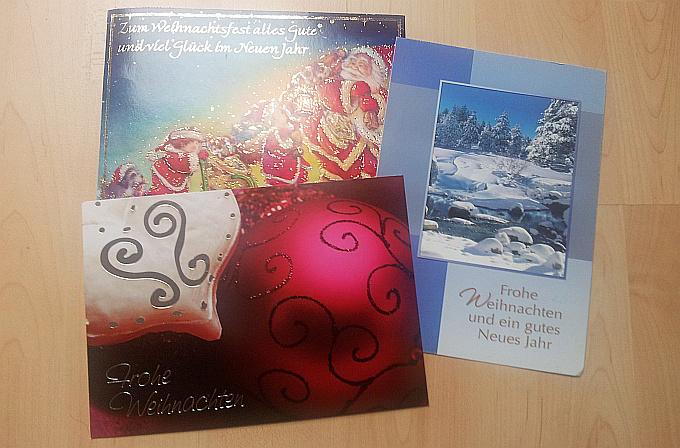 Weihnachtspostkarten-Blogparade