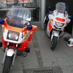 Motorrder der Johanniter