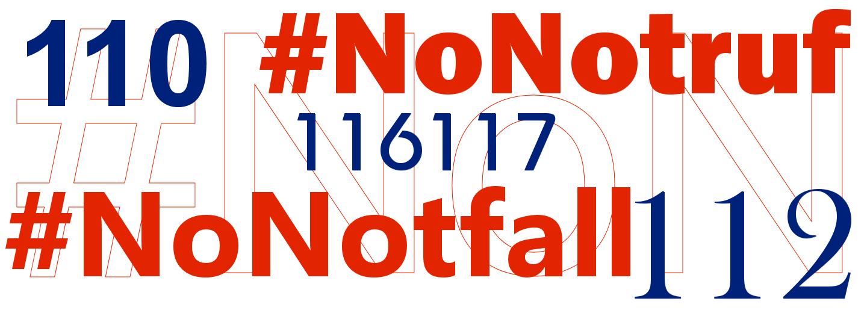 #NoNotruf